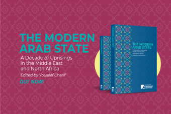 """""""The Modern Arab State: A Decade of Uprisings in the Middle East and North Africa"""", edited by Youssef Cherif (photo: Konrad-Adenauer-Stiftung)"""